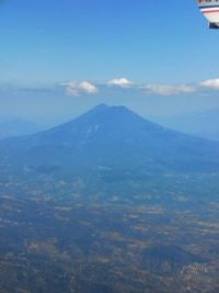 El Salvador-View from the plane