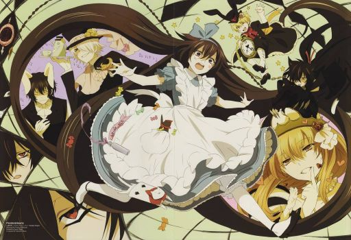 pandora hearts in wonderland