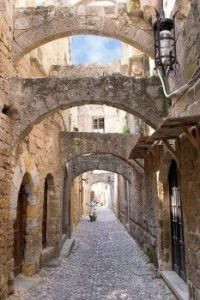 Greece - Island of Rhodes, the Medieval town
