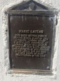 Marie Laveau's Tomb, New Orleans, Louisiana