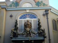 New Orleans Disneyland at Christmas
