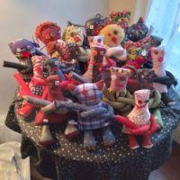 Peggy's handmade dolls