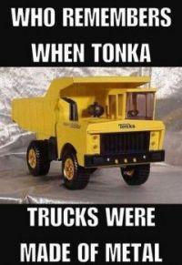 remember tonka