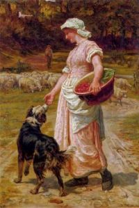 Frederick Morgan - Love me, love my dog