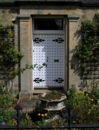 Midlothian house door