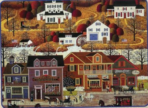 Hawk River Hollow by Charles Wysocki
