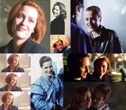 I made you guys more Scully collages - yeah, I have too much time on my hands.