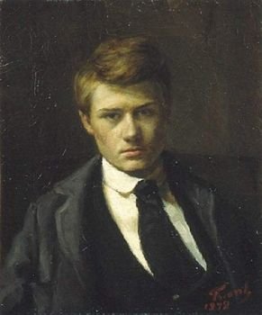 self-portrait 1878 by Emile Friant