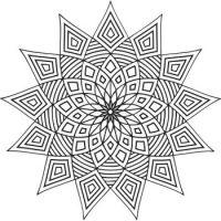 Geometry Star - Large