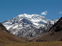 Top of South America, the southern hemisphere, AND the western hemisphere - Aconcagua