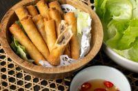 Chả Giò & Nước Chấm: South Vietnamese Spring Rolls with Fish Sauce