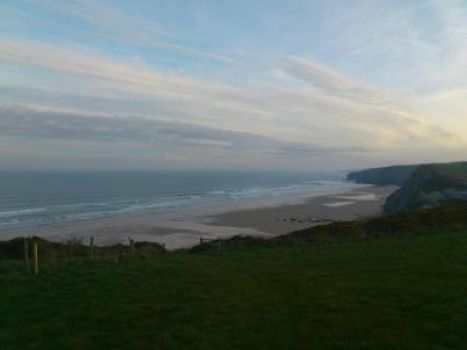 My Niece's Walk to Work in Newquay...Cornwall