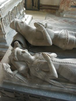 Tomb in St James' Church, Spilsby - 5th May 2004