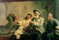 Michael Peter Ancher (Danish, 1849–1927), The Art Judges (1906)