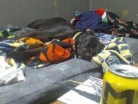 Poblo sleeping