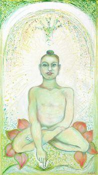 Buddha  ( Digital drawing (ArtRage app.))