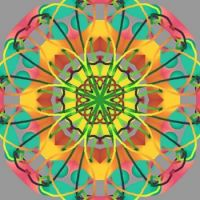 Just For Fun, Touch of Color Kaleido (large)