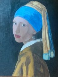 Girl with a pearl earring - my version