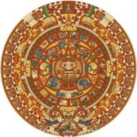 The Aztec Sun Stone - The National Museum of Anthropology in Mexico City