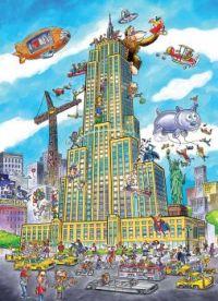 Kong Touring the Big Apple