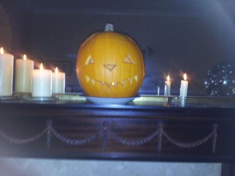 Our halloween pumpkin