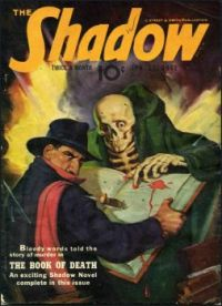 "THE SHADOW--JANUARY 1942--""The Book of Death !"""