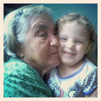 Luana and her greatgrandmother