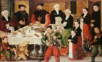 Hans Rudolf Faesch and his family