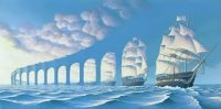 Rob Gonsalves Optical Illusion #1