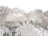 Mount Rushmore, South Dakota, taken today,  Jan 11, 2017