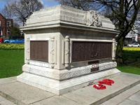 WW1 Memorial in Queens Park, Bolton