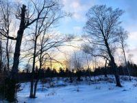 Sunset_winter_land_view_snow
