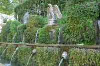 The Hundred Fountains, Tivoli, Rome