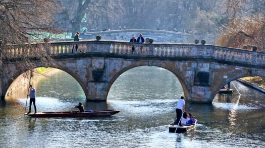 Punting in February
