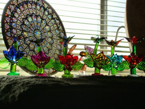 my collection of glass art!!!!