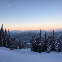 Sunrise on Blackcomb