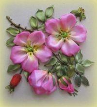 Květinová dekorace, planá růže
