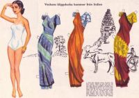 Paper Doll from India