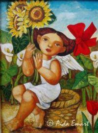 'Angel de Girasoles'