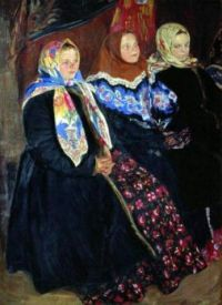 Three Girls by Ivan Lulikov