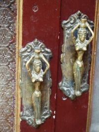 Unusual door handles in India