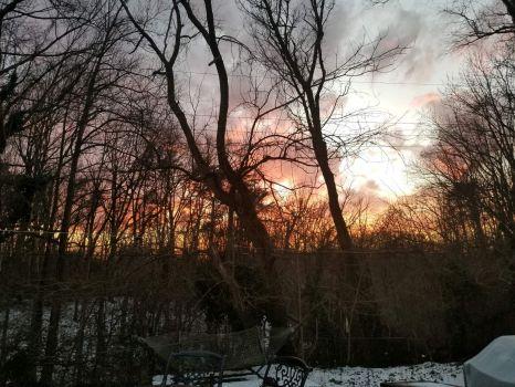 Haskell Sunset