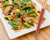 回锅肉 Chinese Twice Cooked Pork Belly