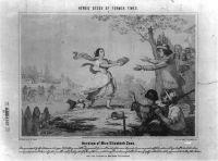 Elizabeth Zane  running with the gun powder