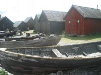 An old fishing village on Gotland