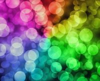 Bokeh Colorful Rainbow
