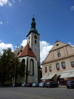 Kostel v Tábore - Church in Tábor