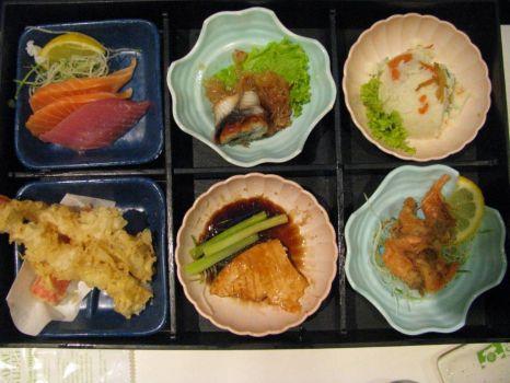 Japanese meal - Bento set