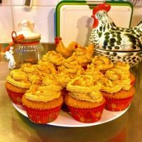 FOR RUDY - Speculoos cupcakes for a Eurovision party (treats from the Netherlands)