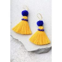 "Themes ""All things Yellow"" - earrings"